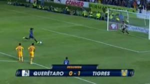 Ronaldinho penalty raté Queretaro
