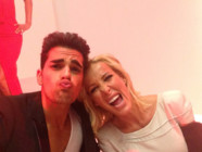 Christophe Licata et Ophélie Winter jouent le jeu du selfie pour MYTF1News (Danse avec les stars saison 5).