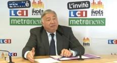 """Gérard Larcher : """"Le débat central est sur les compétences"""" des régions"""