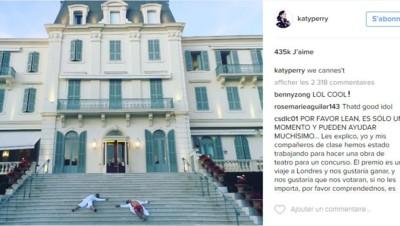 Katy Perry et Orlando Bloom à l'Eden Roc Cap d'Antibes - Cannes 2016