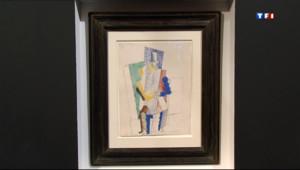 Le 20 heures du 5 avril 2013 : Un Picasso �00 euros ! - 2010.486