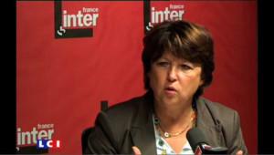 Un budget 2010 indécent, selon Martine Aubry
