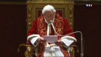 Pape Benot XVI le 28/02/2013