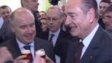 """Chirac en campagne pour le """"oui"""""""