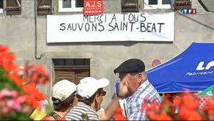 Le 20 heures du 7 juillet 2013 : Saint-B�, �pe de la solidarit�ur le Tour de France - 1083.1177924194337