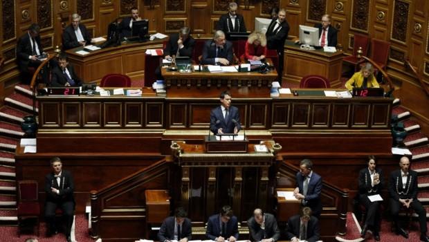 Manuel Valls au Sénat
