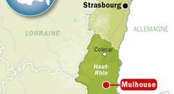 Mulhouse, dans le Haut-Rhin.