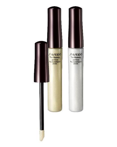 Essayez le maquillage doré avec le gloss Shiseido
