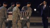 Obama accueille les cercueils de soldats tués en Afghanistan