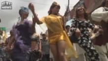 Défilé de la Gaypride au Népal