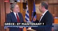 """La Grèce dit """"non"""" : """"C'est un vote pour l'Europe"""" explique le ministre de la fonction publique"""