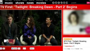 Première interview de Robert Pattinson et Kristen Stewart