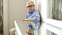 Woody Allen lors du festival de Cannes mai 2015