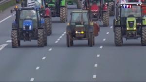 A Rennes, les agriculteurs clament leur colère