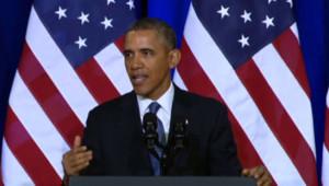 Barack Obama, le 17 janvier 2014