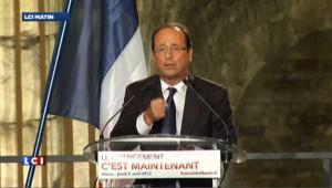 """Le projet de Sarkozy, """"c'est son bilan en pire"""" dit Hollande"""