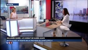 Maladies rares : Karen Aiach combat pour sa fille