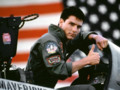 Tom Cruise dans le film Top Gun de Tony Scott