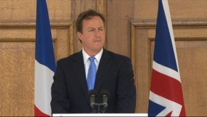 David Cameron, le 18 juin 2010, à Londres