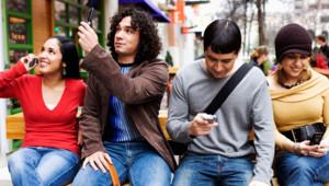 Portables - gens rue -