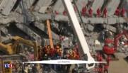 Séisme à Taïwan : une centaine de personnes toujours coincée sous les décombres