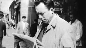 TF1-LCI/AFP-STF : L'écrivain journaliste, philosophe et Prix Nobel de littérature 1957, Albert Camus
