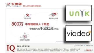 VIADEO espère 1 million de membres de plus par mois en Chine