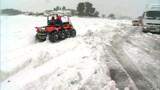 Neige, coupures de courant et transports en berne