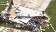Indiana : impressionnants dégâts après le passage de deux tornades