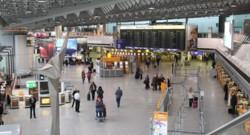 L'aéroport de Franfort