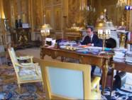 Le 20 heures du 5 mai 2015 : François Hollande souffle ses trois bougies à l'Elysée, les coulisses de son pouvoir - 1690.146