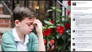 Les larmes de cet enfant, gay, ont ému l'Amérique entière, dont Hillary Clinton