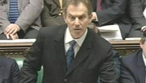 Tony Blair plus décidé que jamais