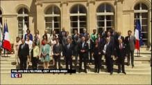 Vacances du gouvernement : dernière pause devant l'objectif à l'Elysée