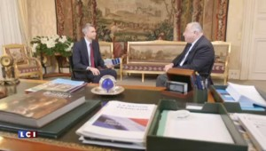 Bureau politique du 19 décembre 2015: Gérard Larcher, président du Sénat