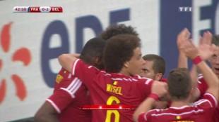 France-Belgique : Revoir le but de Fellaini en vidéo (0-2)