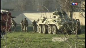 Le 20 heures du 23 mars 2014 : La Russie est-elle sur le point d'attaquer l%u2019Ukraine ? - 554.6216566162109