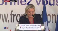 """Le Pen : """"D'irréductibles français qui résistent à la ruine de leur pays"""""""