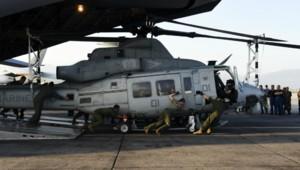 hélicoptère US américain armée népal