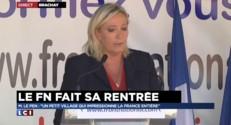 """Le Pen : """"Brachay, le symbole d'une France des oubliés"""""""