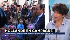 """Présidentielle 2017 : comment Hollande """"occupe"""" l'espace médiatique"""