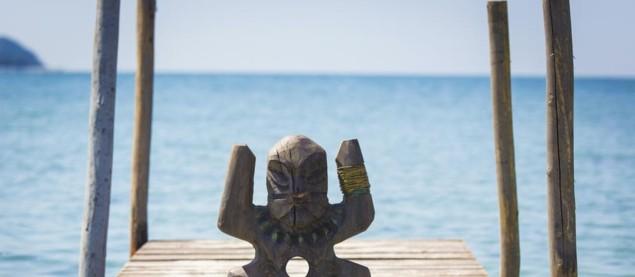 Le totem, symbole emblématique de Koh-Lanta, signe d'immunité pour le concurrent le possédant
