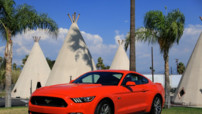 La nouvelle Ford Mustang 2015.