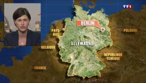 """Le 13 heures du 24 mars 2015 : Crash d'un Airbus A320 : Germanwings, """"la troisième compagnie aérienne allemande"""" - 639.5210000000001"""