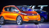 Le Chevrolet Bolt EV Concept, un bolide totalement électrique avec une autonomie annoncée de 320 km.