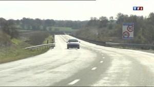 Le péage de l'autoroute A20 près duquel une femme a perdu son bébé en accouchant, faute d'avoir atteint la maternité de Brive (Corrèze).