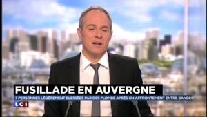 Une fusillade est en cours en Auvergne, 7 blessés