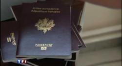 Embouteillage pour le passeport biométrique