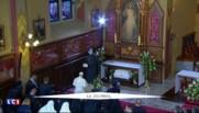 Le pape François s'est recueilli au Sanctuaire de la Miséricorde à Cracovie