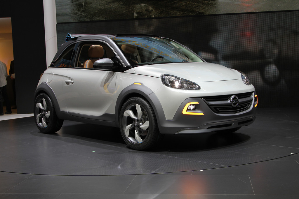 news automoto salon de gen ve 2013 live opel adam rocks concept vers un mini crossover. Black Bedroom Furniture Sets. Home Design Ideas